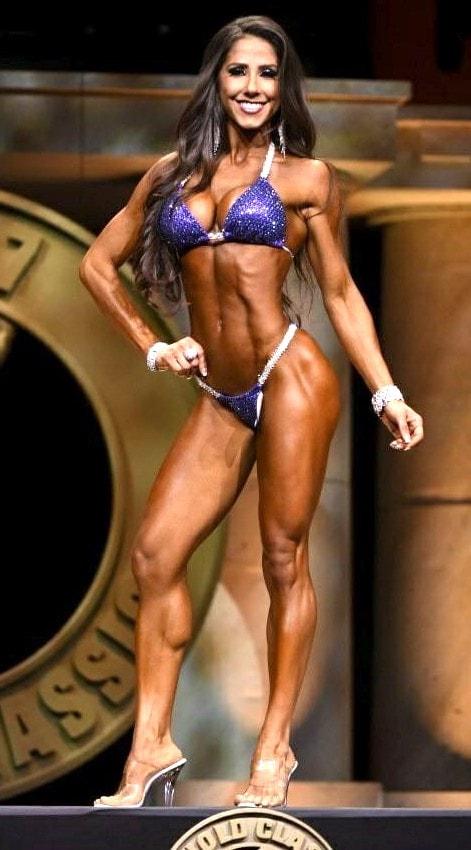 Janet Layug Bikini Front Pose