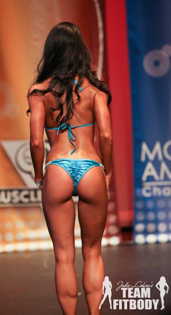 bikini posing