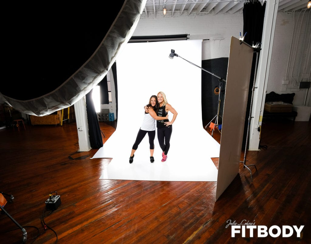 Free Fitness Photoshoot with Julie Lohre - FITBODY