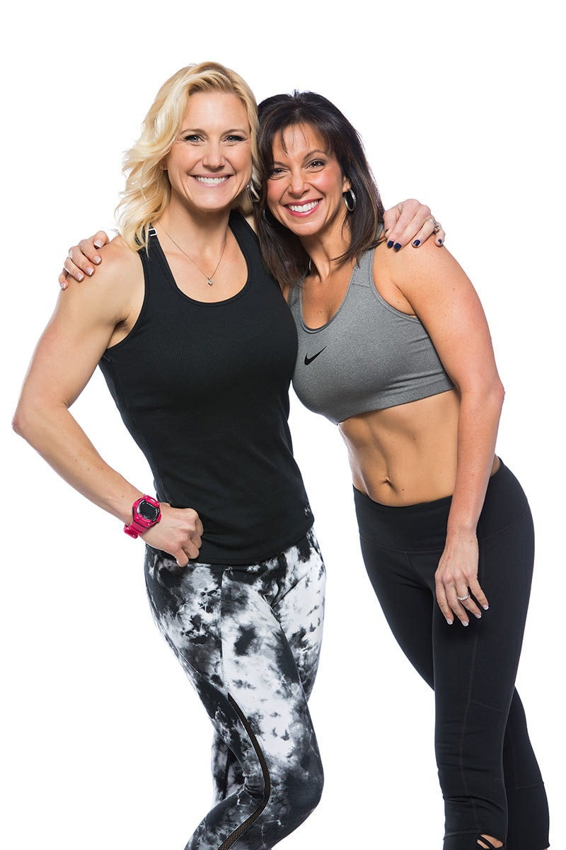Julie Lohre and Michele Lehman