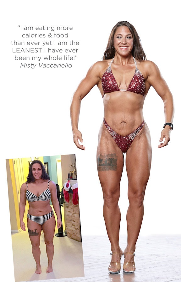 Misty Vaccariello Before & After Transformation