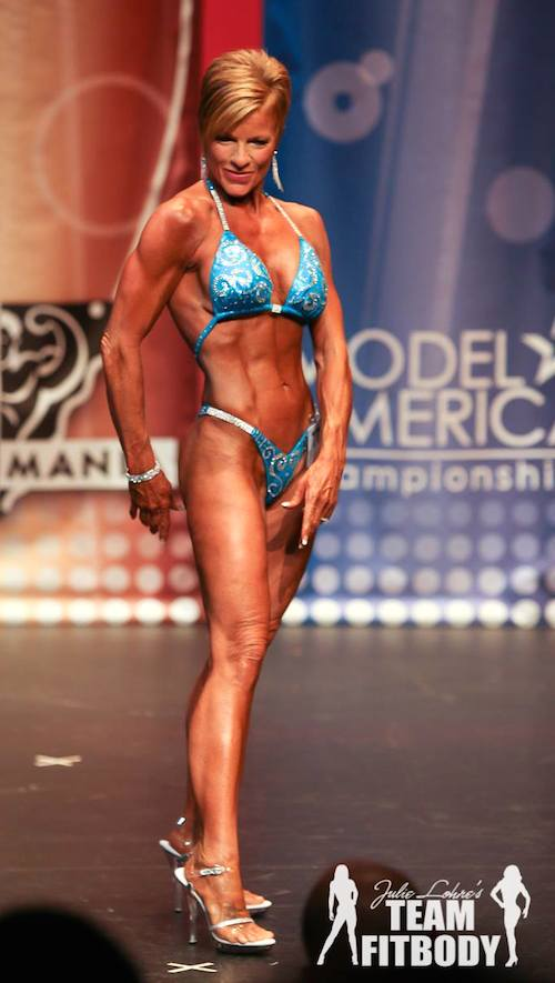 Tiffany Morey IFBB Figure Pro Female Figure Competitor Over 40