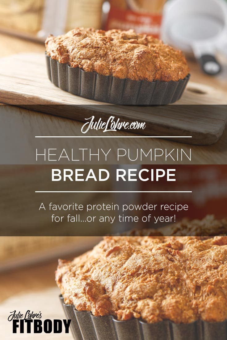 Healthy Pumpkin Protein Bread