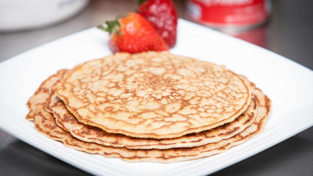 Julie Lohre's Perfect Protein Pancakes