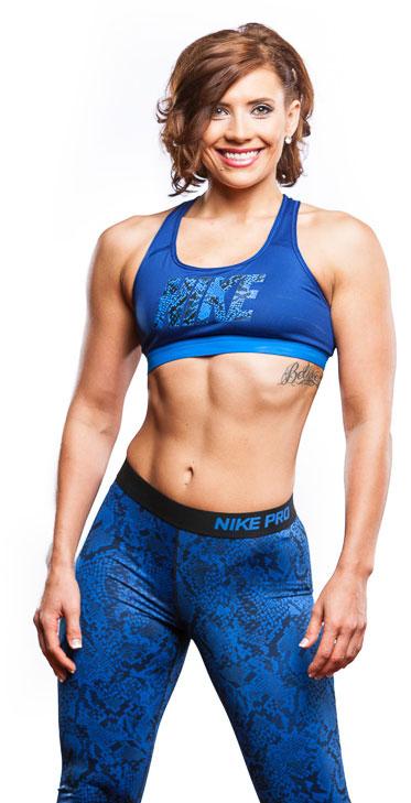 Katharine Rose NPC Fitness Competitor