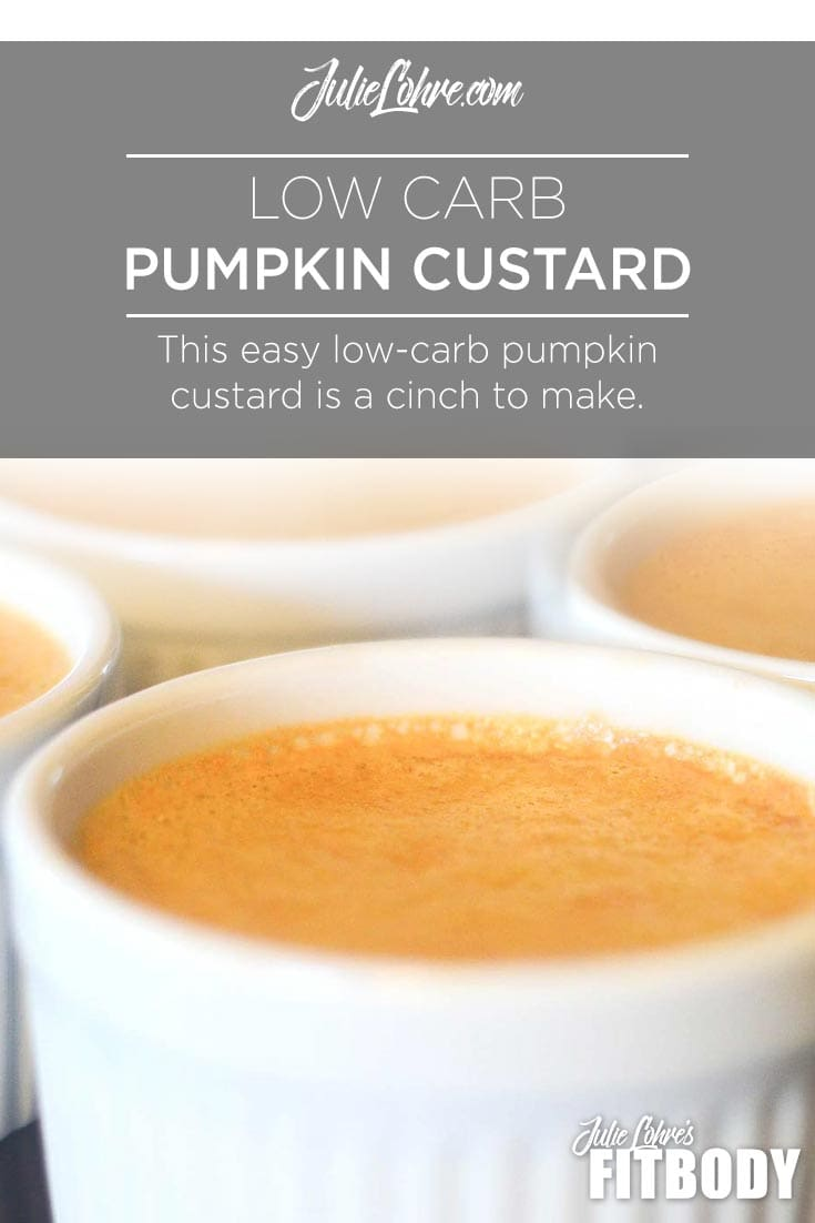Low Carb Protein Custard