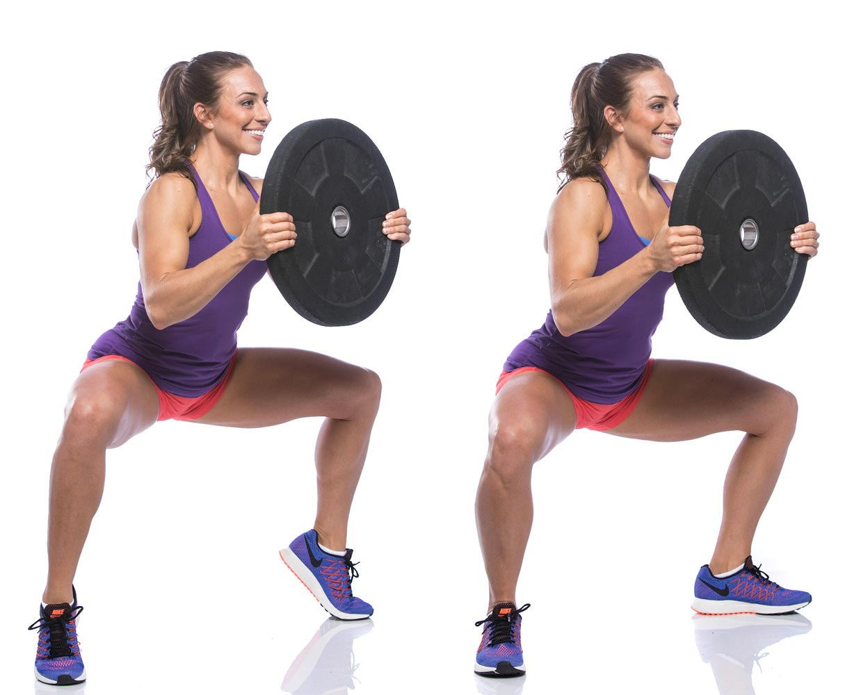Plie Squat Heel Raises