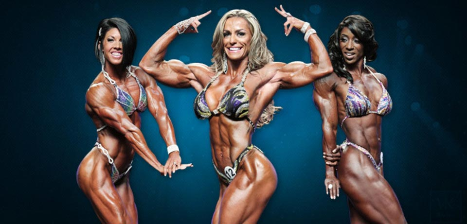 Difference between divisions Women's Physique