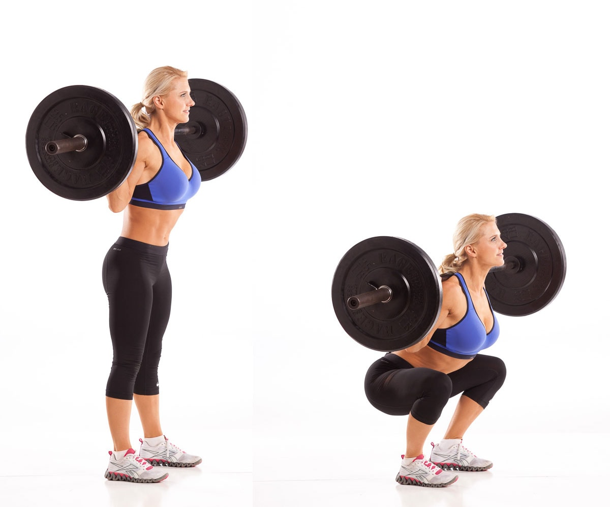 Barbell Back Squat with Julie Lohre
