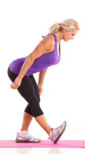 Bent Over Calf Stretch with Julie Lohre