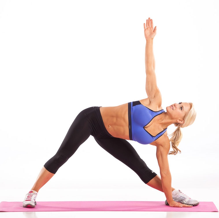 Extended Yoga Triangle