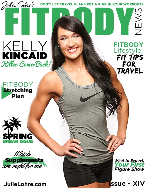 Fit body News Magazine XIV Kelly Kincaid