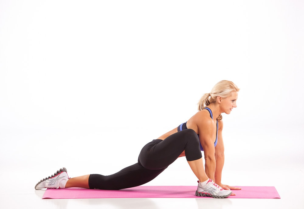 Hip Flexor Stretch High on Knee
