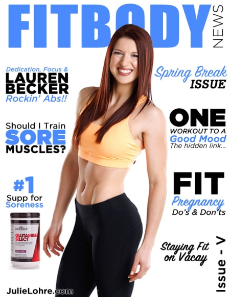 FITBODY News Magazine Lauren Becker