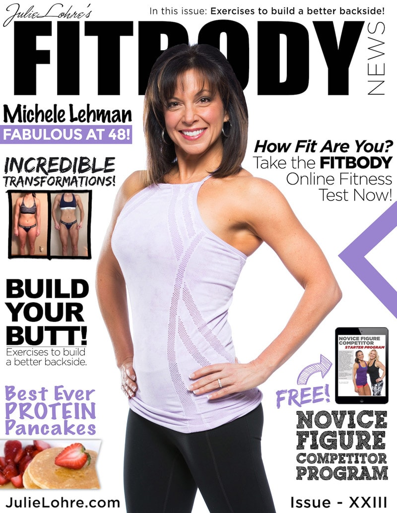 Julie Lohre Fitbody News Magazine