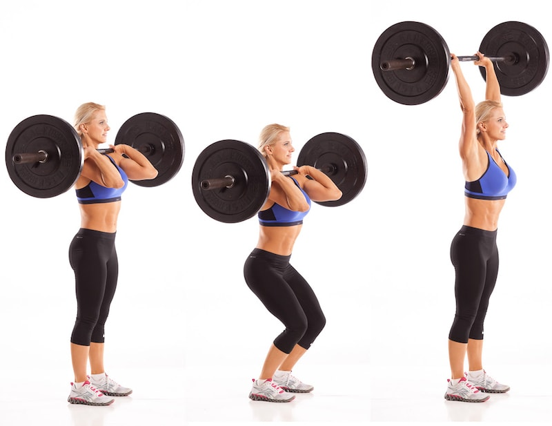 Barbell Push Press with Julie Lohre