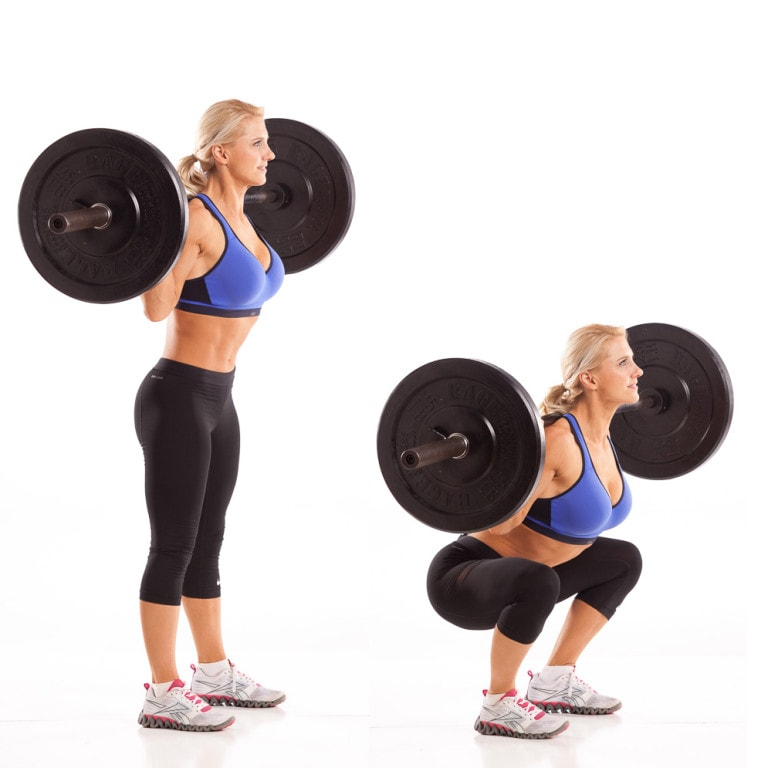 Best Butt Exercises Back Squat