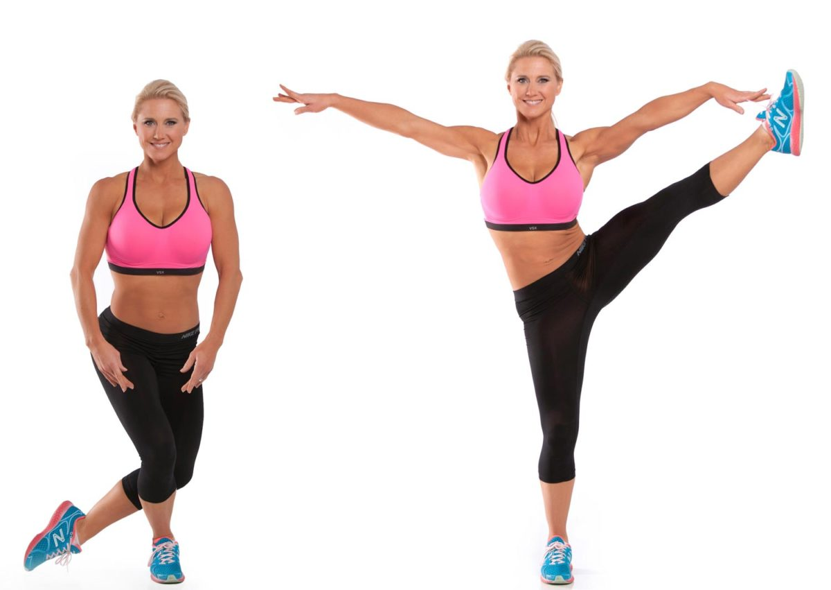 Ballet Side Leg Raise Exercise