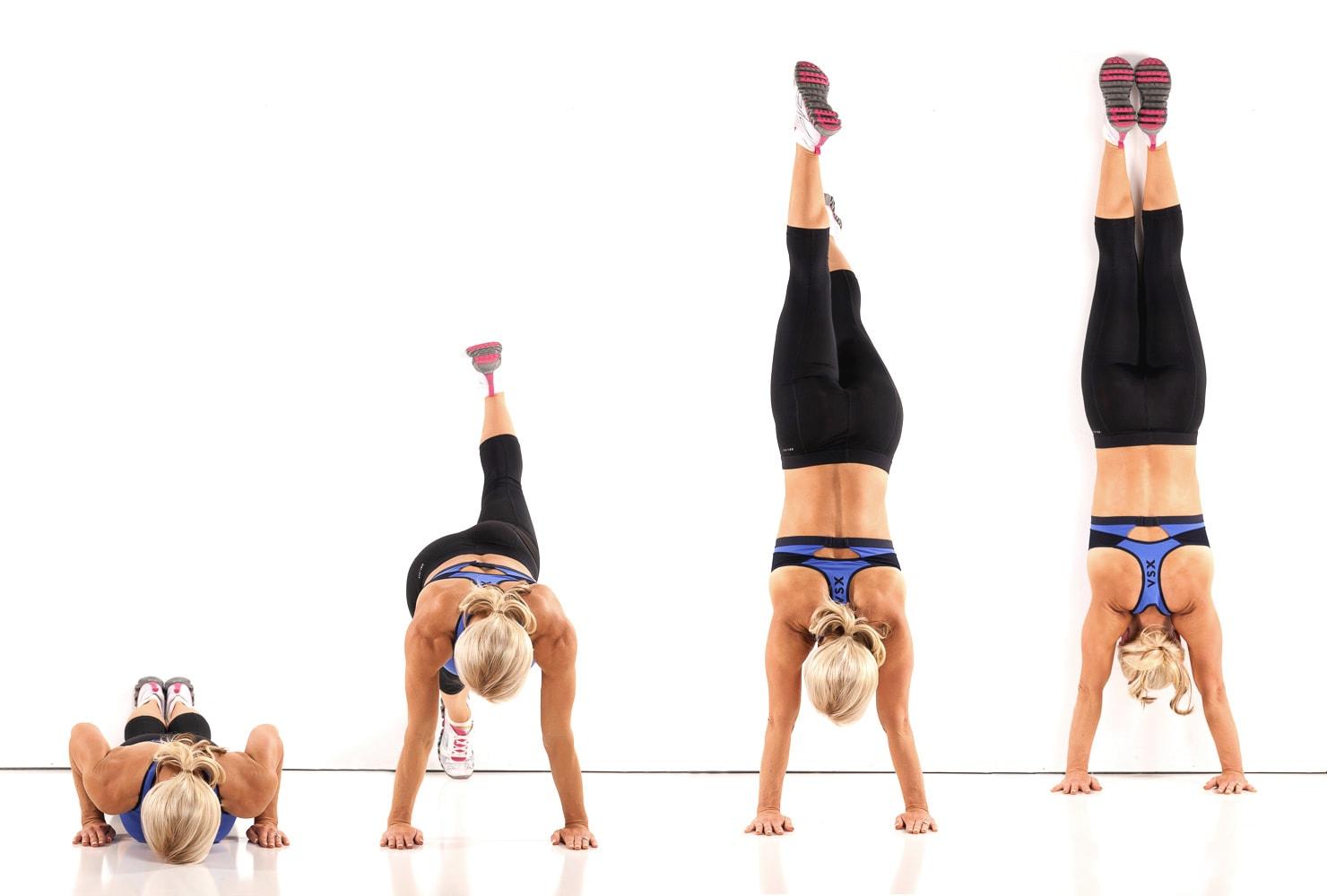 Handstand Wall Climbs