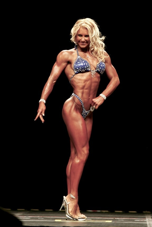 Julie Lohre - Atlantic City IFBB Pro Fitness Champion