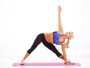 Julie enjoys many forms of fitness including advanced yoga.