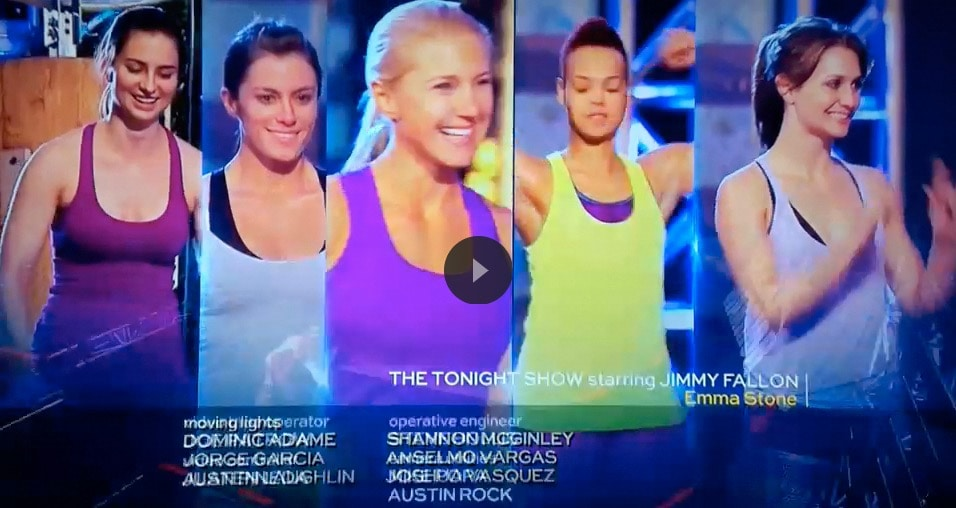 Julie Lohre American Ninja Warrior