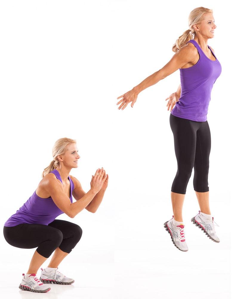 Jump Squat with Julie Lohre