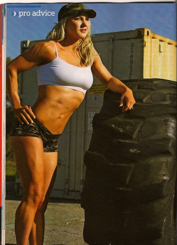 Julie Lohre Muscle and Fitness 300 Workout Plan