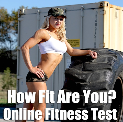 How fit am I Online Fitness Test