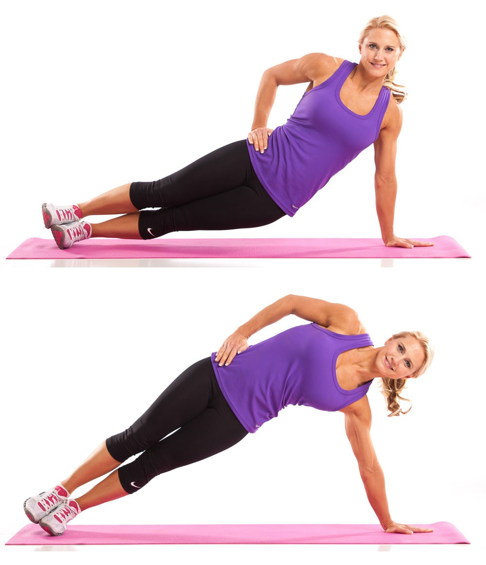 Plank Pulses  Abs Workout for Women