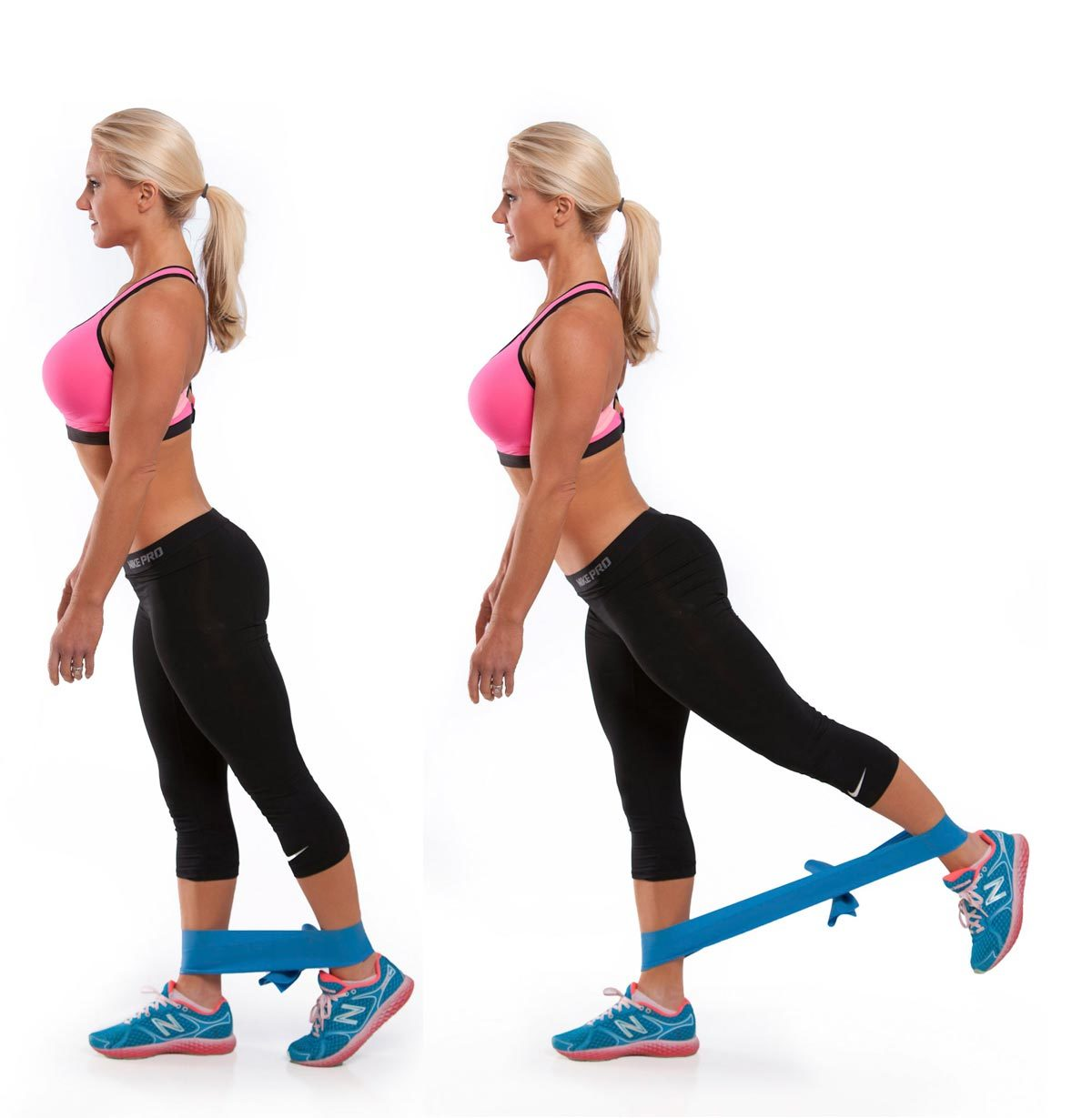 Standing Glute Pulses Exercise