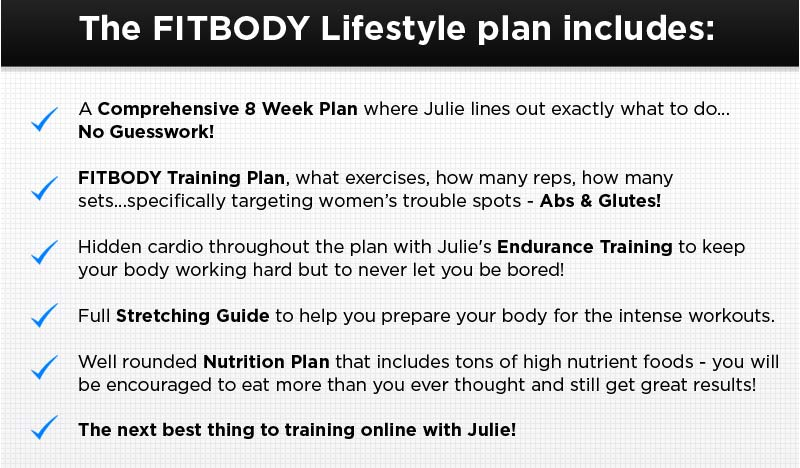 Fitbody Lifestyle Workout Program for Women