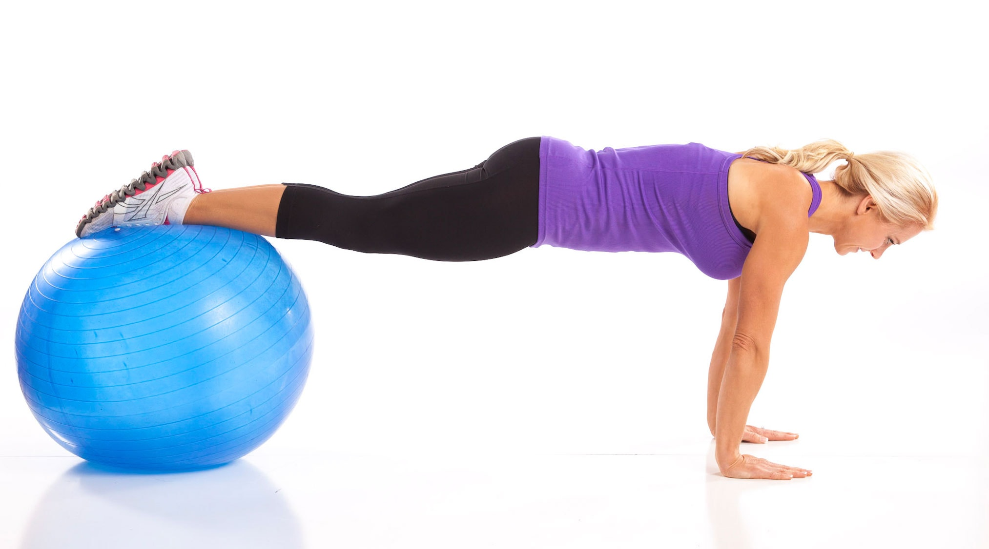 Ball Pike Ups Abs Workout for Women