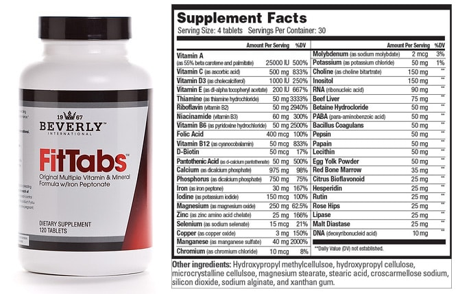 Fit Tabs Multivitamin