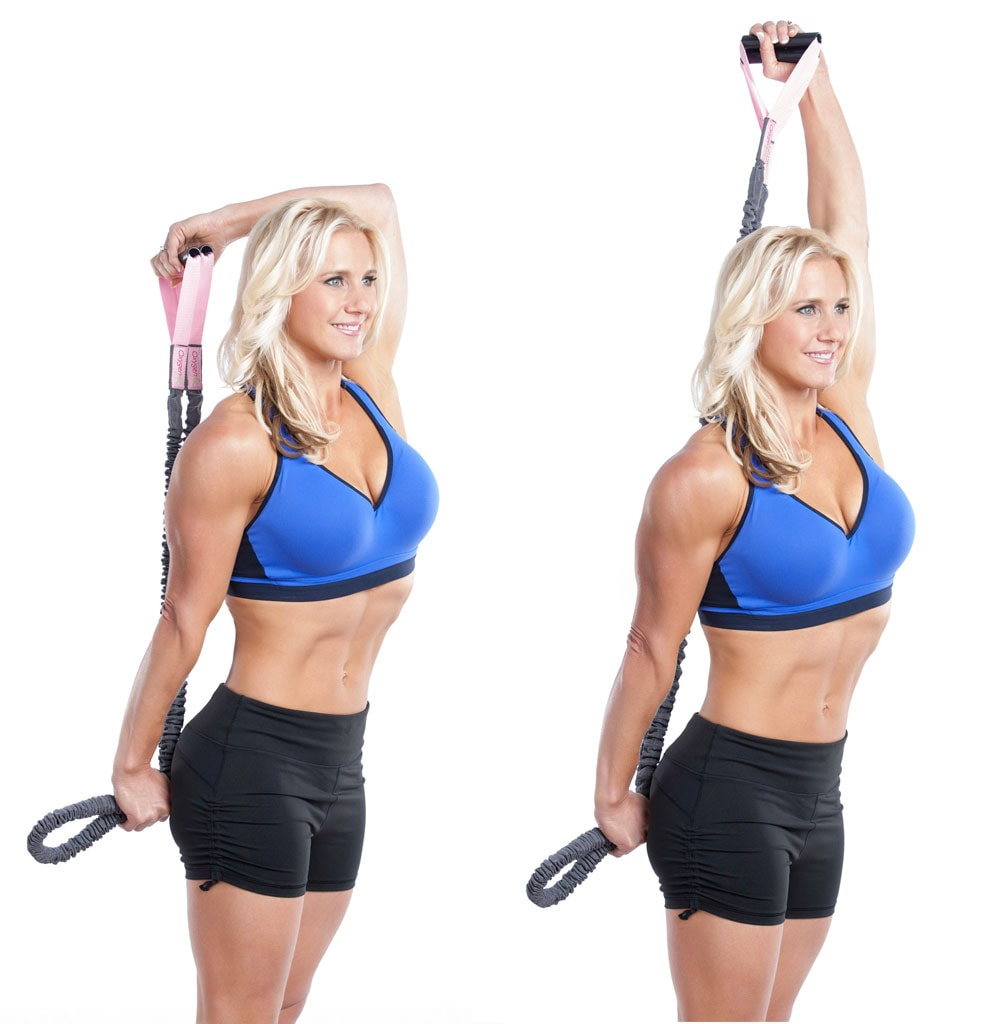 Overhead Band Tricep Extension