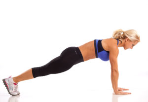 Planking exercise for abs