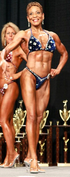 Angie Davies Masters Figure Competitor