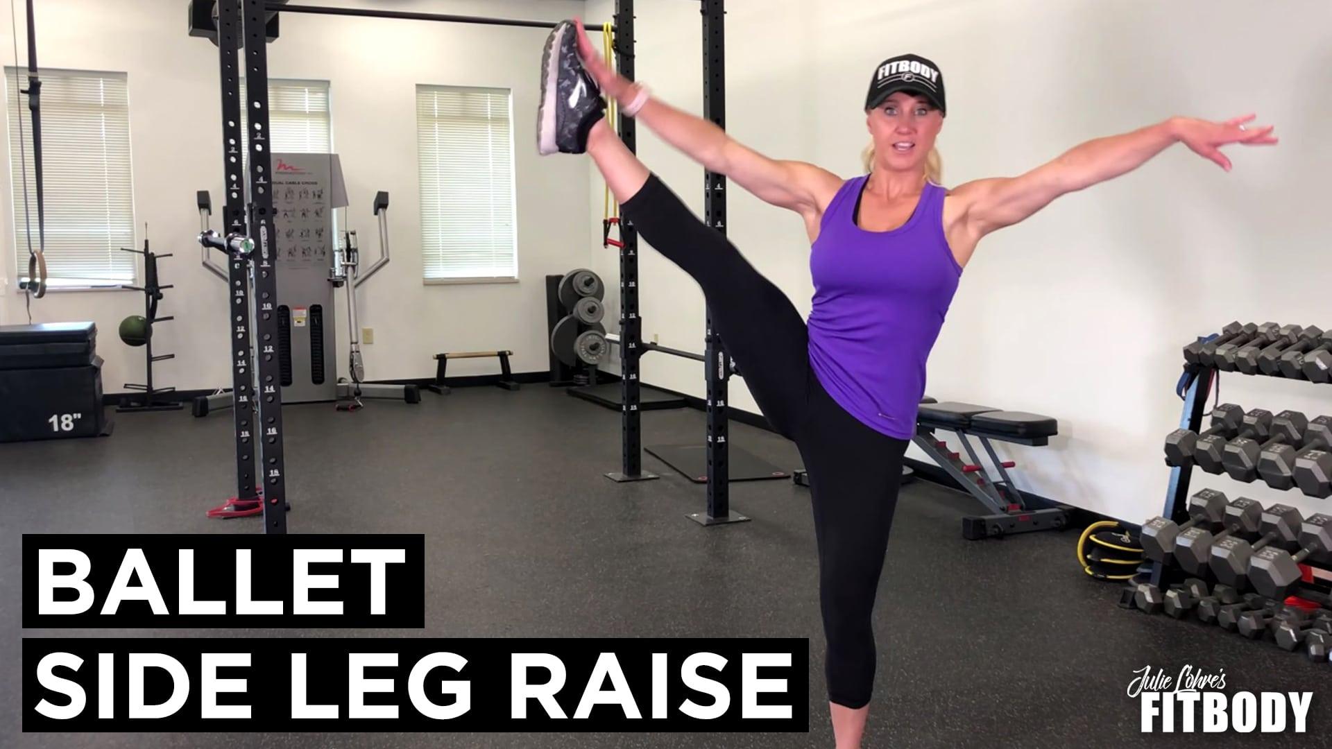 Ballet Side Leg Raise