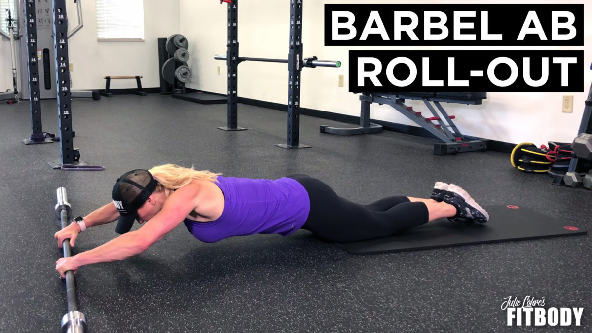 Barbell Ab Rollout Exercise
