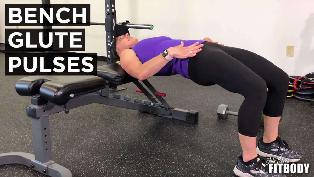 Bench Glute Pulses