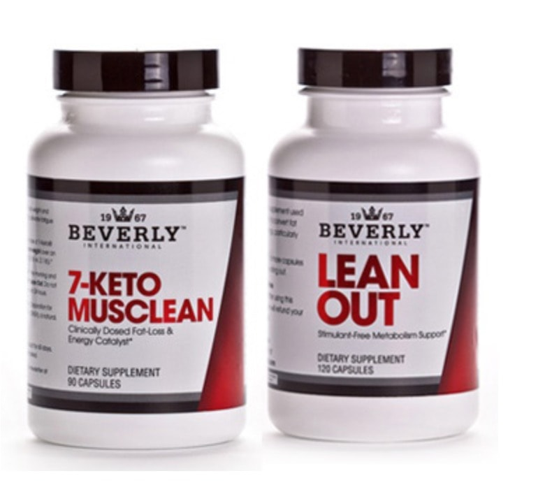 Beverly international Lean Out and 7 Keto Musclean
