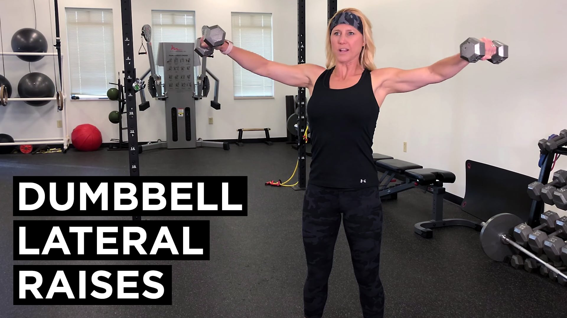 Dumbell Lateral Raises