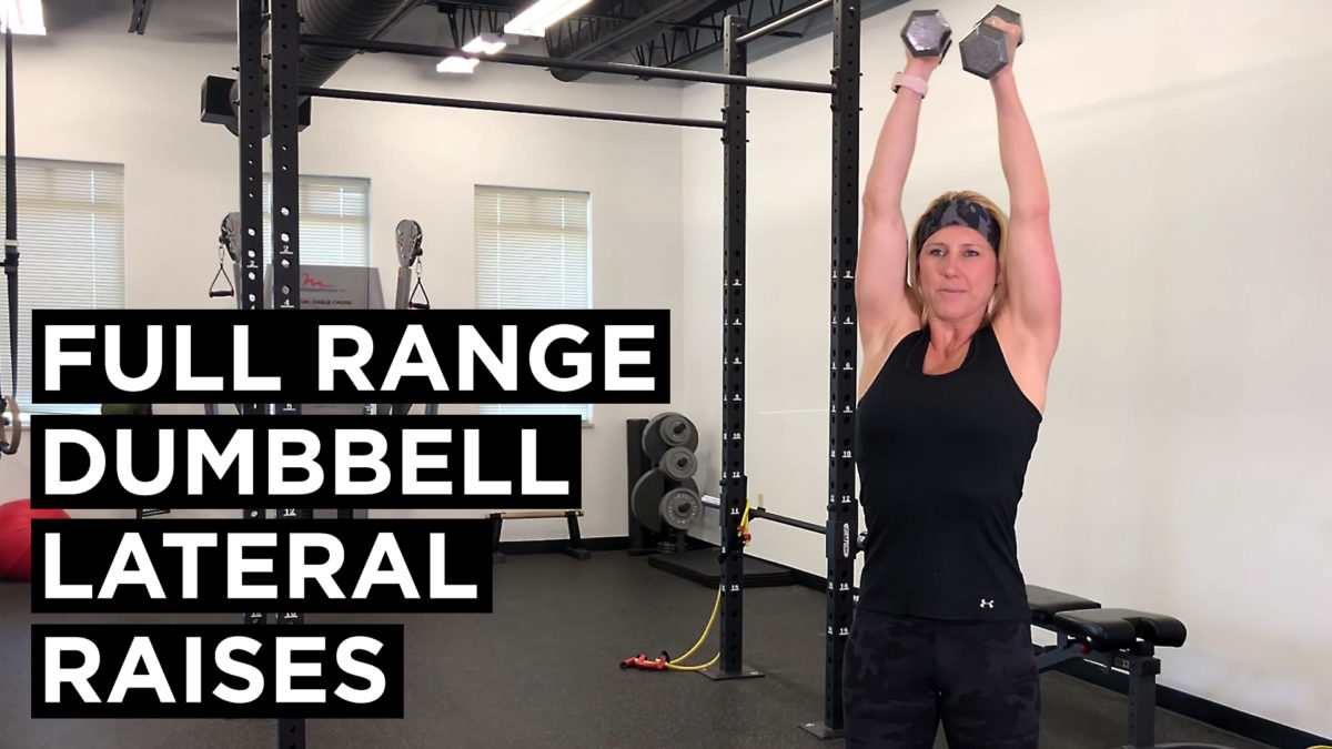 Full Range Dumbell Lateral Raises