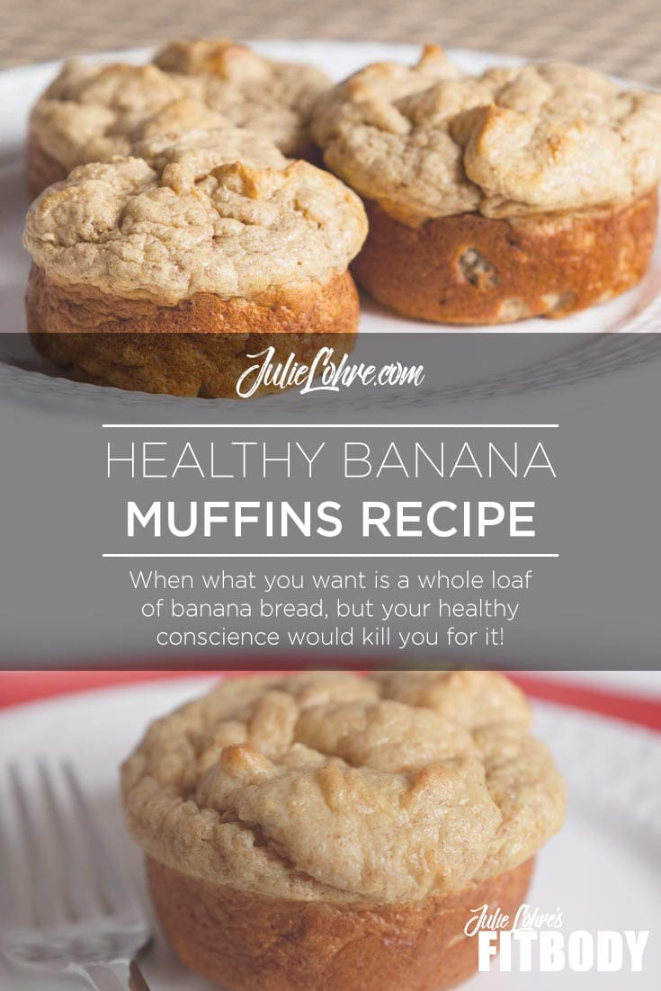 Healthy Banana Muffins Recipe - Protein Packed