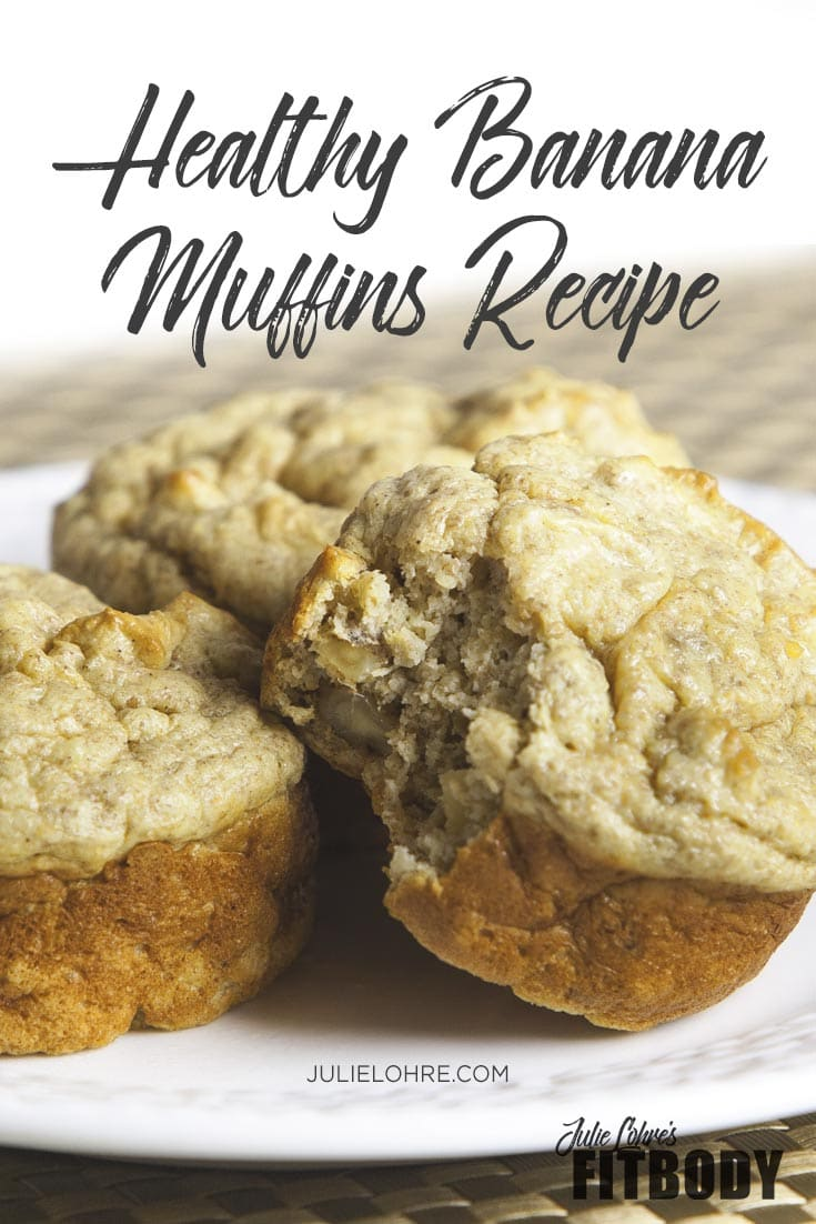 Healthy Banana Muffins Recipe