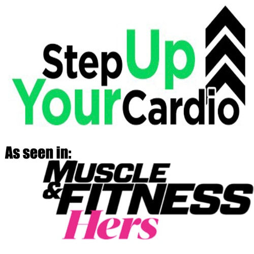 Julie Lohre's Stepper Cardio Workout as seen in Muscle & Fitness Hers Magazine