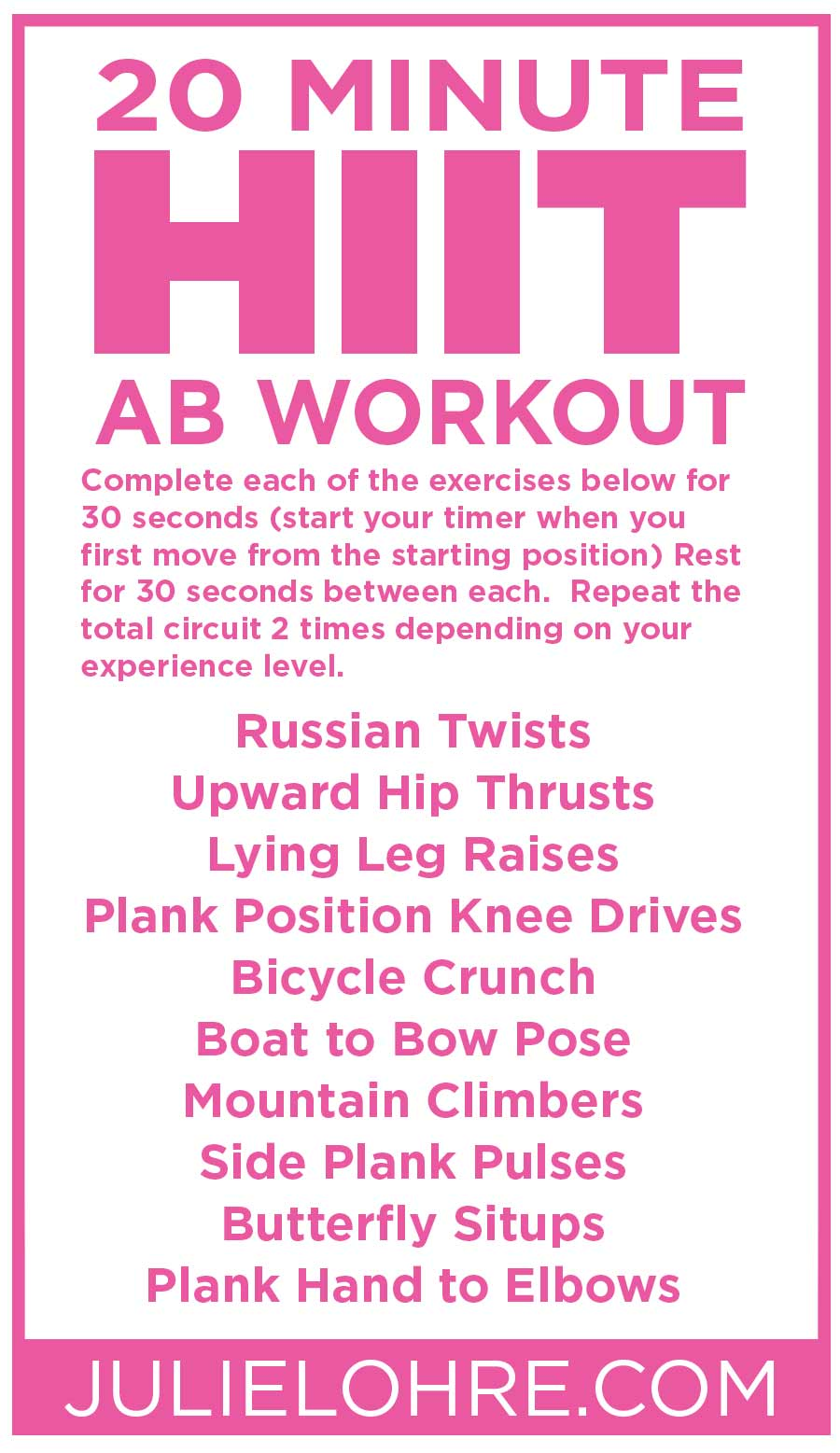 HIIT Workouts for Women | High Intensity Interval Training ...