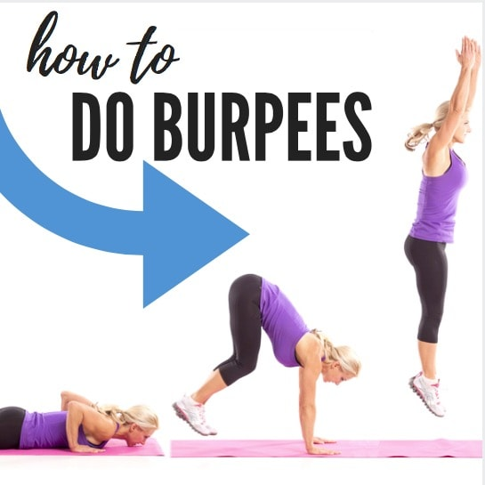 How to do burpees