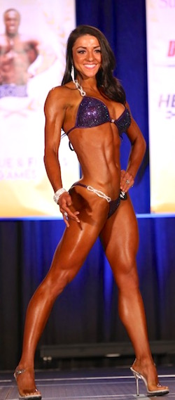 NPC Bikini Front Pose with Megan Petty