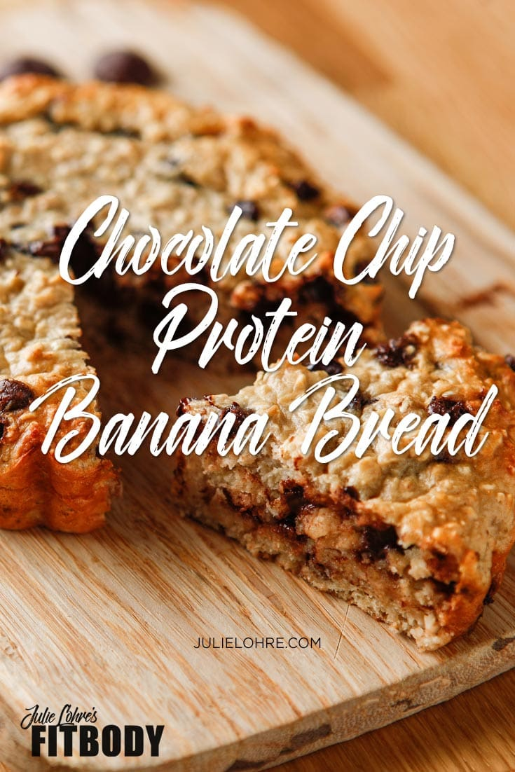 Chocolate Chip Protein Banana Bread